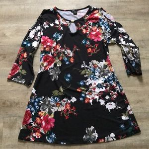 Robert Louis Cold-Shoulder Dress